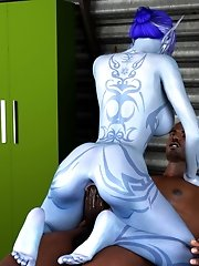 avatar girl interracial 3d sex
